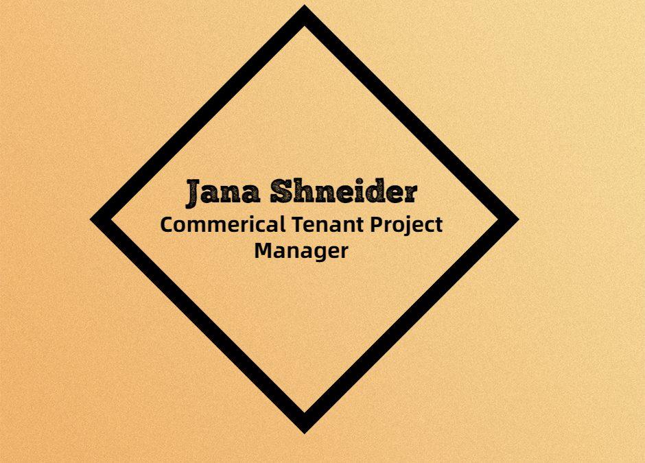 Employee Spotlight – Jana Shneider