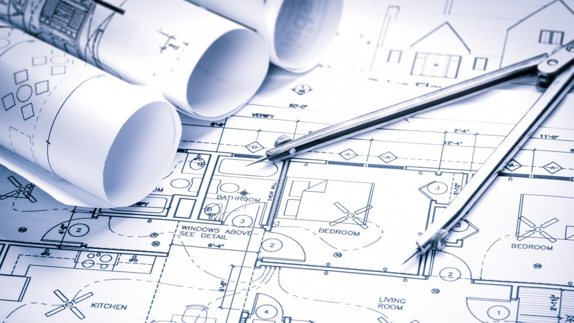 Architectural drawings/blueprints.