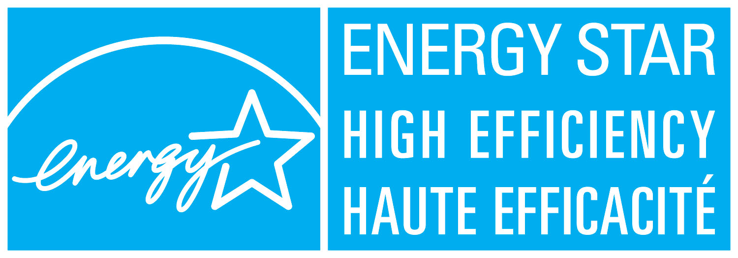 The ENERGY Star logo (blue background with white writing).