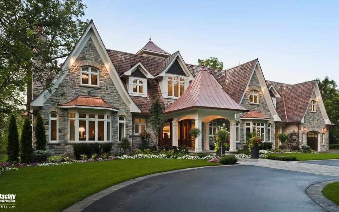 A Bachly Built luxury home.